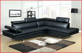 canape angle cuir relax canapé d angle cuir noir et blanc 148721 circlepark canapes d