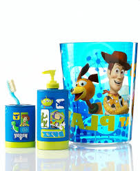 Blue Bathroom Accessories by Blue Bathroom Accessories With Toy Story Theme Idea Kids