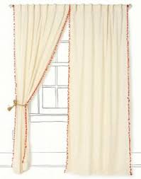 i u0027m betting i could make these pom curtains instead of buying them