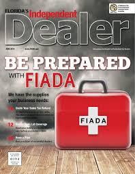 Checkered Flag Auto Sales Lakeland Fl June 2014 Issue Fiada Independent Dealer Magazine By Fiada Issuu