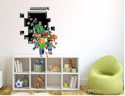 Minecraft Bedroom Decals by Best 3d Minecraft Wall Stickers Creeper Decorative Pig Steve Dig