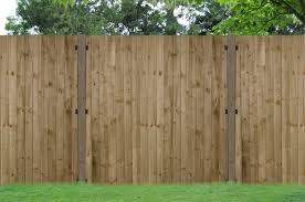 pressure treated featheredge panel forest garden