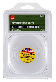 b u0026q trimmer line to fit electric trimmers t 1 3mm departments