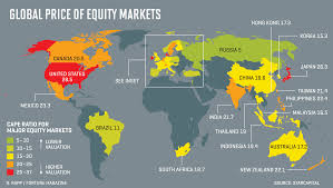 world map stock image world s most expensive stock markets mapped fortune