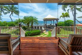 Exotic Beach Houses Best Villas For Whale Watching On Maui Exotic Estates
