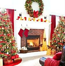 Christmas Decorations For Fireplace Mantel Fireplace Mantel Christmas Decorations Pictures Corner Decorating