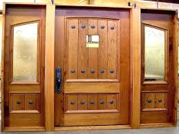 Solid Oak Exterior Doors Solid Wooden Front Doors Solid Wood Exterior Door Lowes Hfer