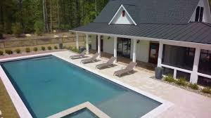 farmhouse style pool house in chapel hill nc youtube