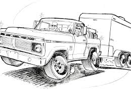 lifted jeep drawing drawn truck lifted pencil and in color drawn truck lifted