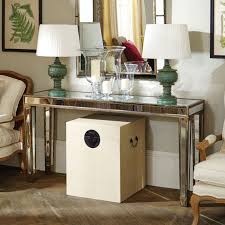 glass mirrored console table mirrored console table large versailles oka