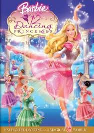 barbie twelve dancing princesses western animation tv