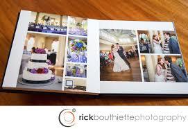 album wedding our wedding albums rick bouthiette photography