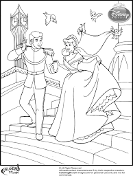 cinderella color pages disney wedding coloring pages archives coloring page
