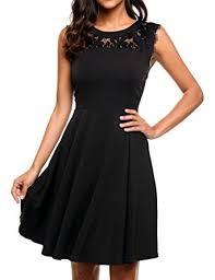 beyove women u0027s elegant lace a line sleeveless pleated cocktail