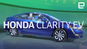 Honda Clarity Ev And Plug In Hybrid First Look New York Auto