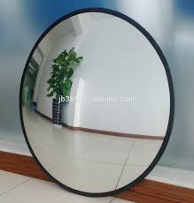 furniture framed bathroom mirrors large round mirror silver