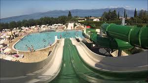 all slides camping lido lago di garda italy youtube