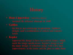 galileo design telescopes light history hans lippershey middleburg