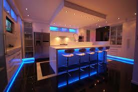 Led Kitchen Faucets Countertops Backsplash Futuristic Led Kitchen Lighting