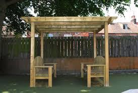 Swing Pergola Pergola With Bench Pergola Bench Seat Designs Bench Seat
