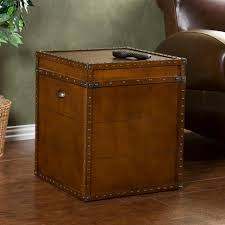 trunk style bedside tables furniture trunk bedside table elementals style side next day