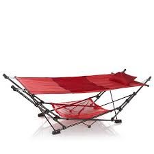 fieldsmith collapsible hammock with air mesh pillow 8282139 hsn