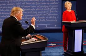fact check donald trump hillary clinton deny own words in first
