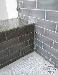 Gray Tile Bathroom Ideas by 69 Best Bathroom Images On Pinterest Bathroom Ideas Subway Tile