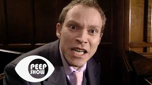 jez pisses himself in the church peep show youtube