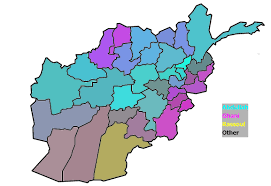 Early Election Results Map by Elections Elections Afghanistan Election Results Map South