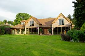 Barn Style Home Plans Gorgeous Open Plan Barn Style Home Tucked Away At The Bottom Of An