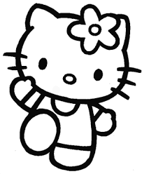 draw kitty easy step step drawing lesson