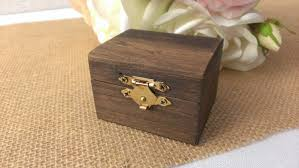 wedding rings in box wedding ring box wooden ring box