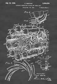 aircraft propulsion patent vintage aviation art airplane art