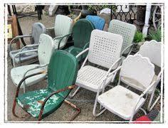 Vintage Patio Furniture Metal by 3 Pc Metal Vintage Retro Outdoor Furniture Lawn Patio Seating