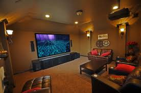 Home Movie Theater Wall Decor Chic Media Room Wall Color Ideas Media Room Decor Media Wall