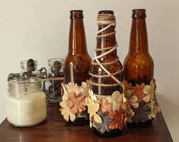 fall wine bottles twine wrapped wine bottles rustic home