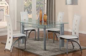 5 piece dining room sets white 5 piece metro glass dinette set dining room sets