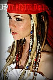 Scary Gypsy Halloween Costume 25 Pirate Makeup Ideas Pirate Hairstyles