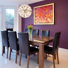 Modern Dining Room Colors Dining Room Design Purple Dining Rooms Room Paint Color Ideas