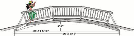 wooden bridge plans wood bridge design plans home design