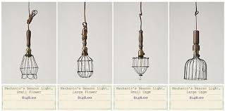 wire pendant light fixtures diy anthropolgie inspired pendant light ashleyannphotography com