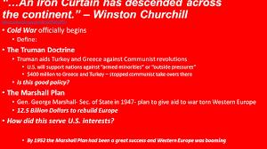 Significance Of Iron Curtain Speech 100 Winston Churchills Iron Curtain Speech Summary