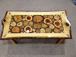 Wood Slice Coffee Table Made Log Slice Coffee Tables By Live Edge Woodcrafts