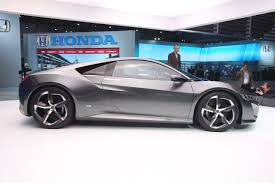 honda previews new convertible sports new honda nsx concept previews interior for the first time