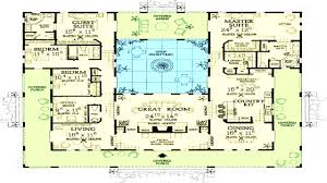 mediterranean floor plans with courtyard corglife