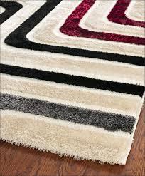 furniture marvelous fluffy white area rug elegant flooring blue
