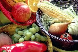 organic fruit basket delivery fruit and vegetable basket bsket nd vegetbles isolted organic