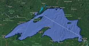 Lake Superior Map Lake Superior Level Rose More Than Average Last Month Sootoday Com