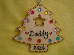 new for 2016 personalised wooden christmas tree shaped hanger with
